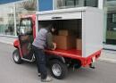 Geschlossener Aufbau für Fahrzeuge des Katastrophenschutzes