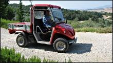 Elektro-Pritschenwagen Alkè mit kurzer Ladepritsche