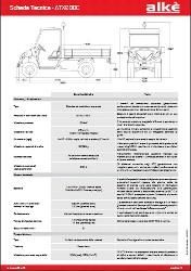 Technische Angaben Alke ATX240E