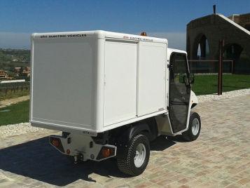 Kühlwagen für den mobilen eschlossener isothermischer Aufsatz für den Verkauf von Street Food