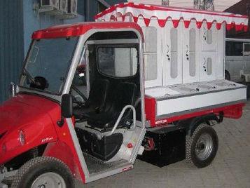 Foodtruck und Sandwichwagen für den mobilen Verkauf von belegten Sandwiches