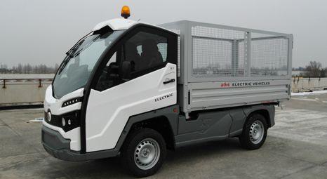 Elektrofahrzeuge XT mit Laubgitter