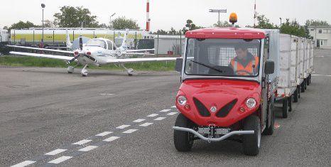 Flughafenfahrzeuge - ALKE ATX 280E Fahrzeuge für Flughäfen