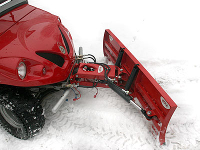 electric utility vehicles snow blower