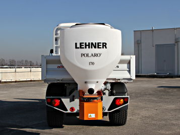 salt spreader lehner polaro on alke electric vehicles