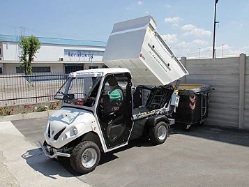 waste transport vehicles