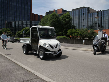 Electric vehicle for city applications
