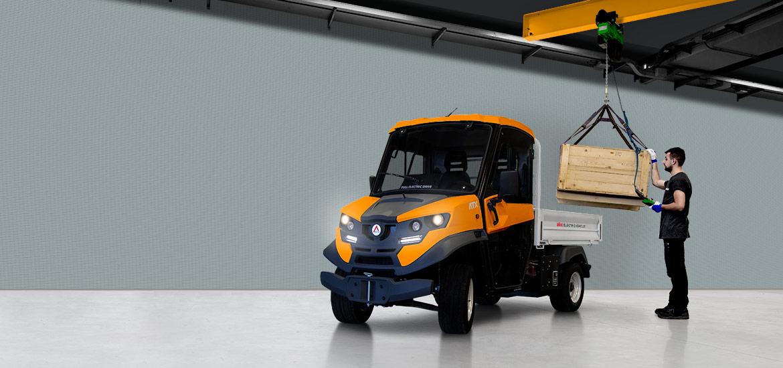 Electric Utility Vehicles Atx240e