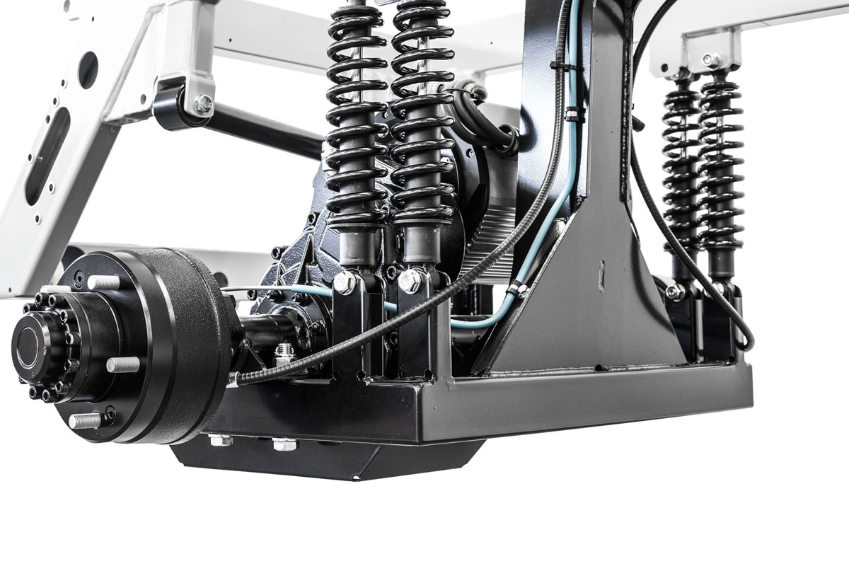 Atx240e Electric Utility Vehicle