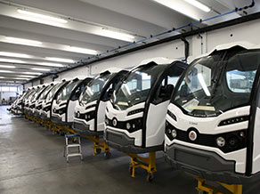 Manufacturing of XT range