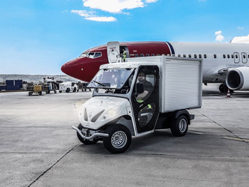 ALKE' electric airport vehicles