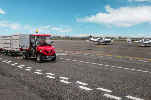 ALKE' electric vehicles - Perfect for airport activities