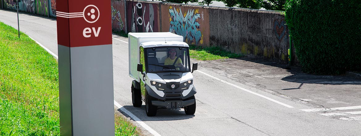 Alke' electric vehicles - Towing vehicle with trailer