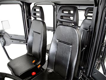 Double cab - interior