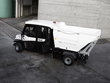 Alke' waste collection vehicle