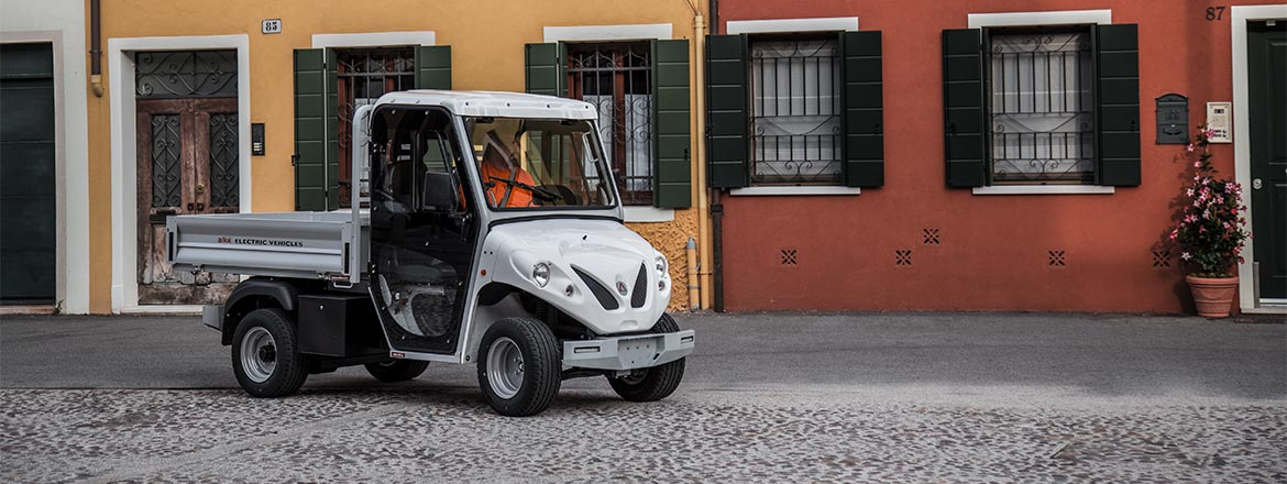 ATX range - Electric utility vehicles with loading bed