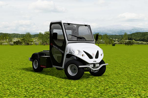 Alke' electric utility vehicles - ATX range - Semi-trailer