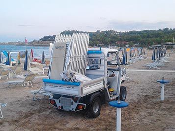 Utility vehicles for beaches