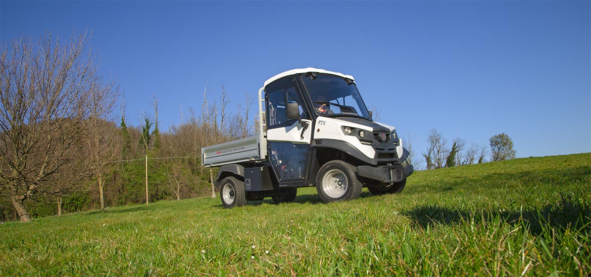 Farm electric utility vehicles Alke' ATX