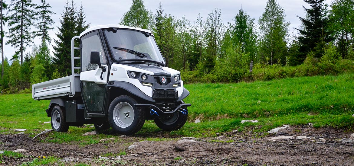 Farm electric utility vehicles
