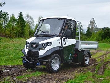 Off-road agricultural vehicles