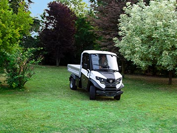 Utility vehicles for parks