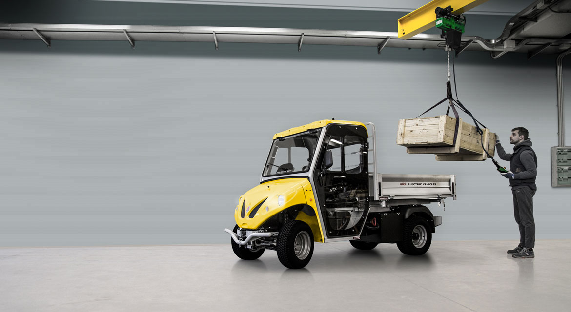 Alke' industrial electric utility vehicles - ATX range