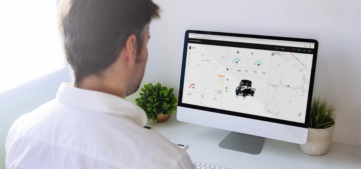 Fleet management for Alke' Electric Vehicles - Remote control and diagnostics via Cloud