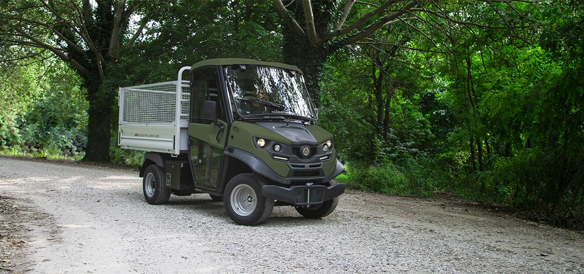 Alke' Electric military vehicles - ATX