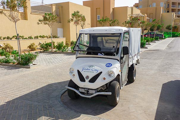 Alke' electric utility vehicles for holiday villages