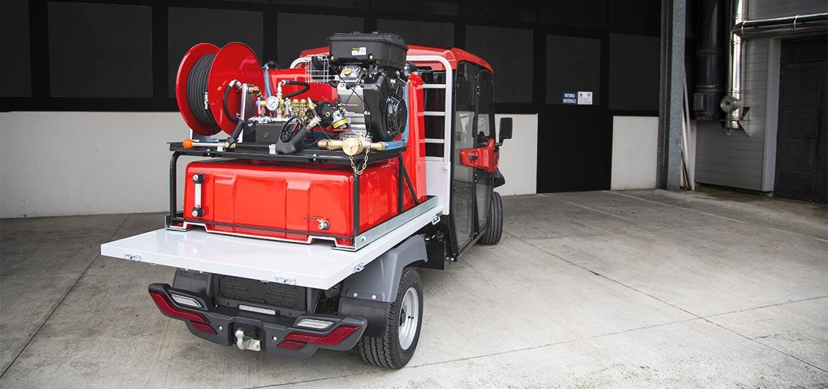 ALKE' ATX Firefighter electric utility vehicles