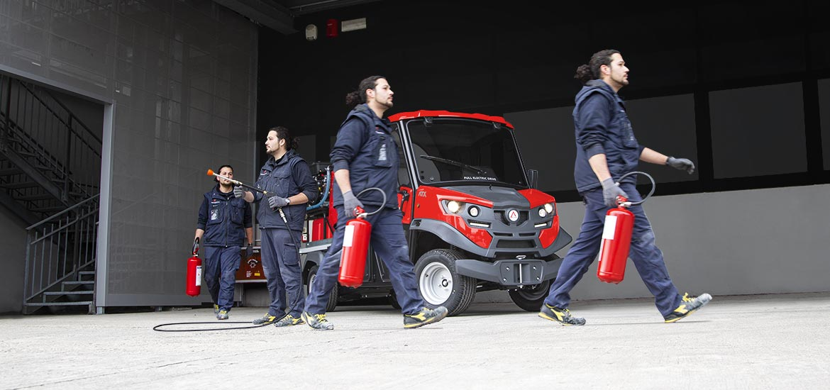 Firefighter electric vehicles Alke'
