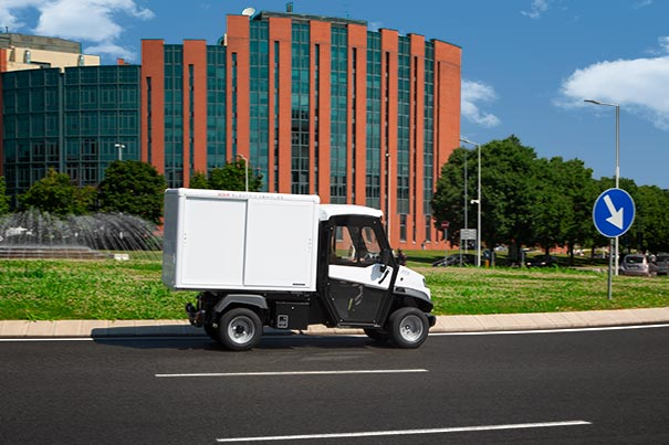 Commercial electric vehicles urban transport