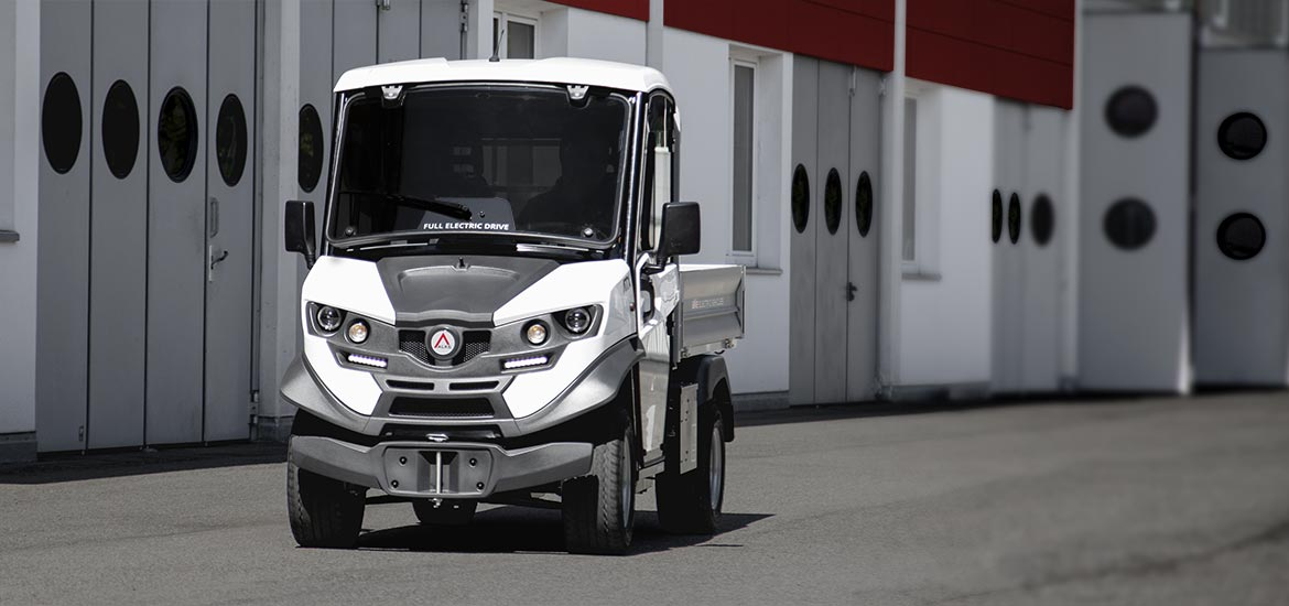 Electric Utility Vehicles Alkè ATX - High performance levels and state of the art design