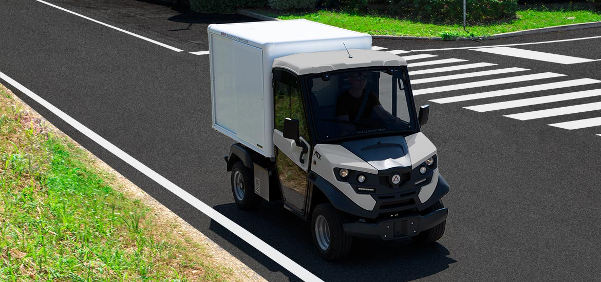 Electric delivery van Alke'