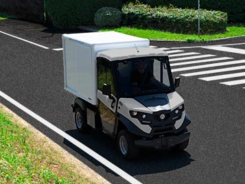 Alke' electric delivery van