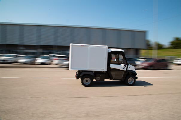 Electric commercial vehicles last mile delivery