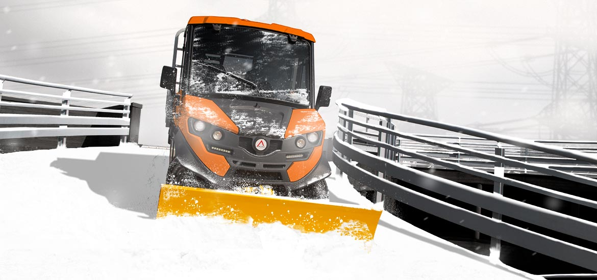 Electric Snow Plow Vehicles Alke