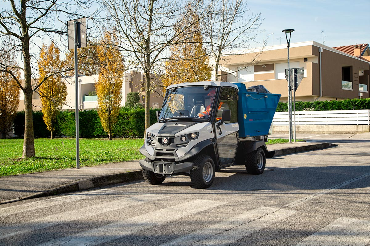 waste collection electric vehicles