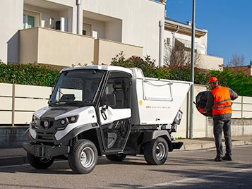 waste transport electric vehicles alke
