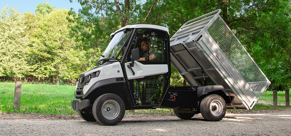 Electric tipper vans - Tipper vans with electric drive and 1.630 kg load capacity