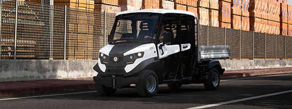 Alke' Double Cab ATX ED Electric Vehicles