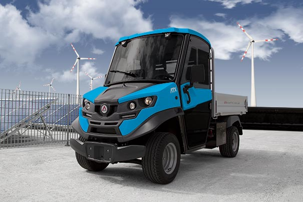 Electric utility vehicles Alke' - The ideal battery for your electric vehicle