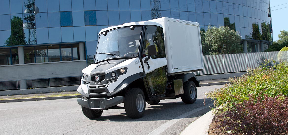 Electric commercial vehicles freight transport - Alke'