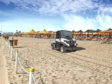 Zero emission vehicles - Sand
