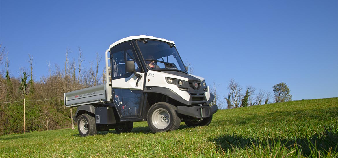 Off-road small electric trucks Alke'