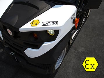 ATEX full electric vehicles