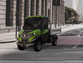 Work vehicles: The best electric vehicles for your business.