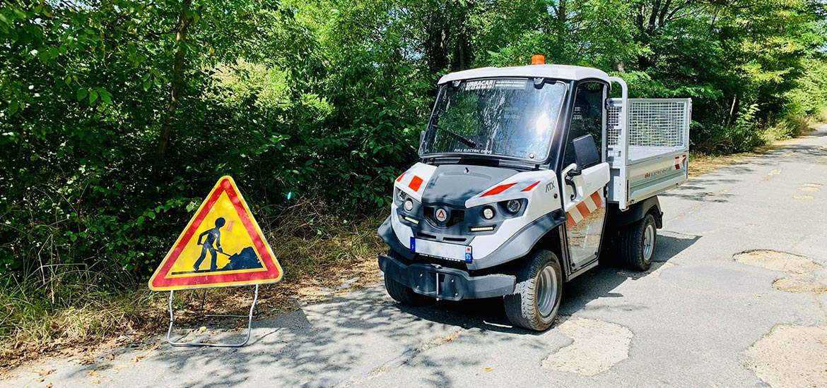 maintenance and street cleaning Alke' vehicles