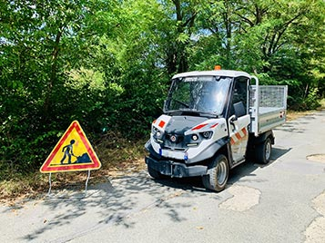 Sanitation and street cleaning utility vehicles - Alke'